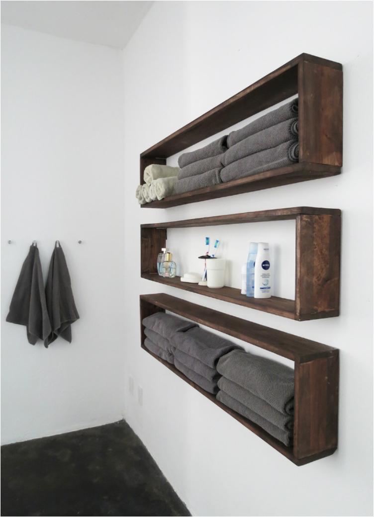 28 Great DIY's for Organizing a Tiny Bathroom