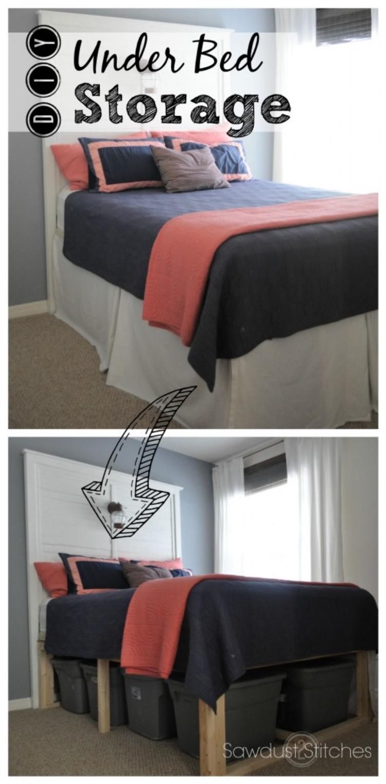 Small Bedroom Storage Diy 26 Ideas To Maximize A Tiny Bedroom Space Ritely