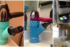 Tiny bathroom hacks