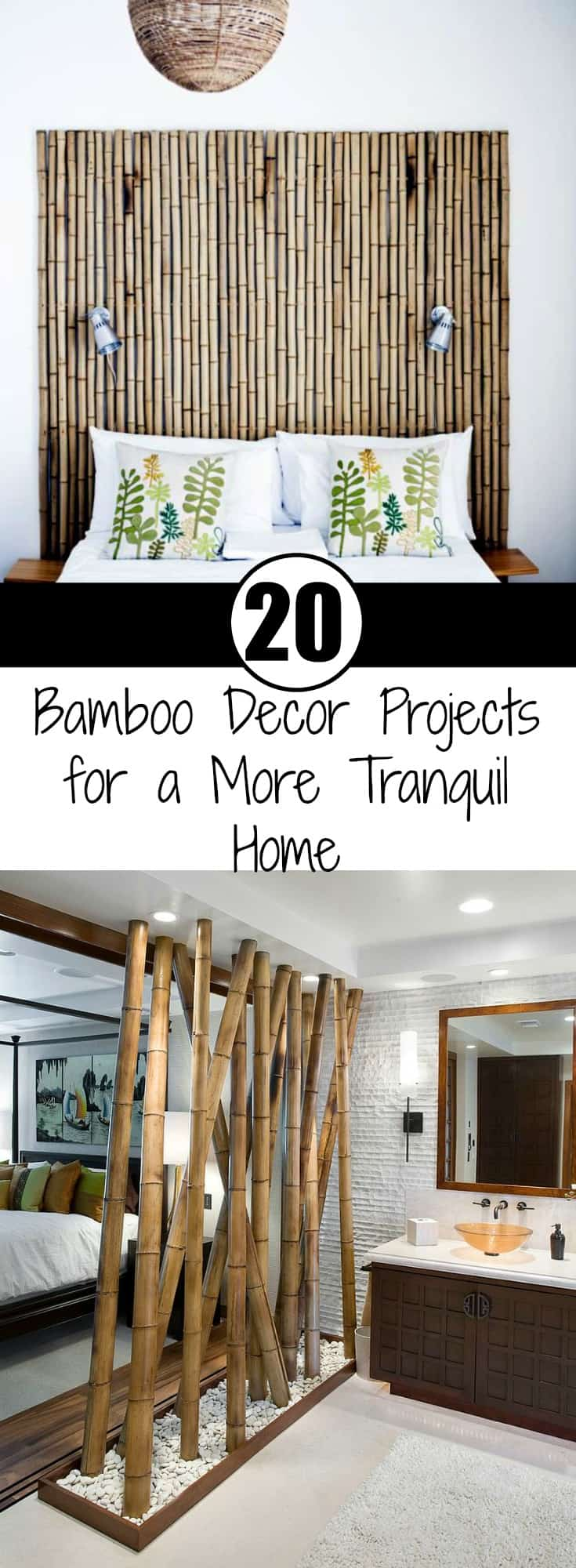 20 Bamboo Decor Projects for a More Tranquil Home