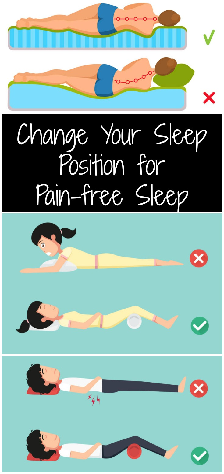Change Your Sleep Position for Pain-free Sleep