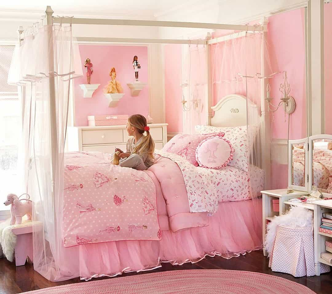 32 Dreamy Bedroom Designs For Your Little Princess: 32 Cheery Designs For A Little Girl's Dream Bedroom