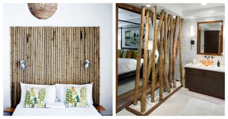 Bamboo decor projects