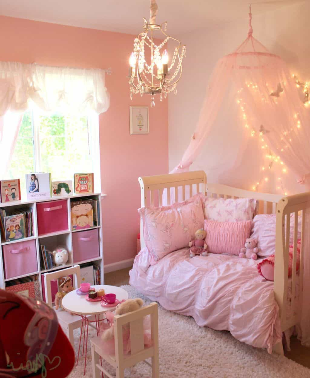Pink Girls Room: 32 Cheery Designs For A Little Girl's Dream Bedroom
