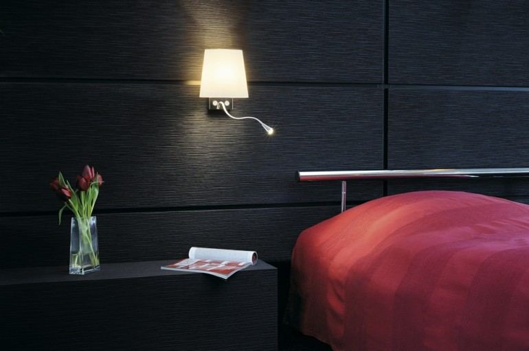 Small Bedroom Wall Lamps : 29 Creative Wall Lamps that Illuminate and Decorate