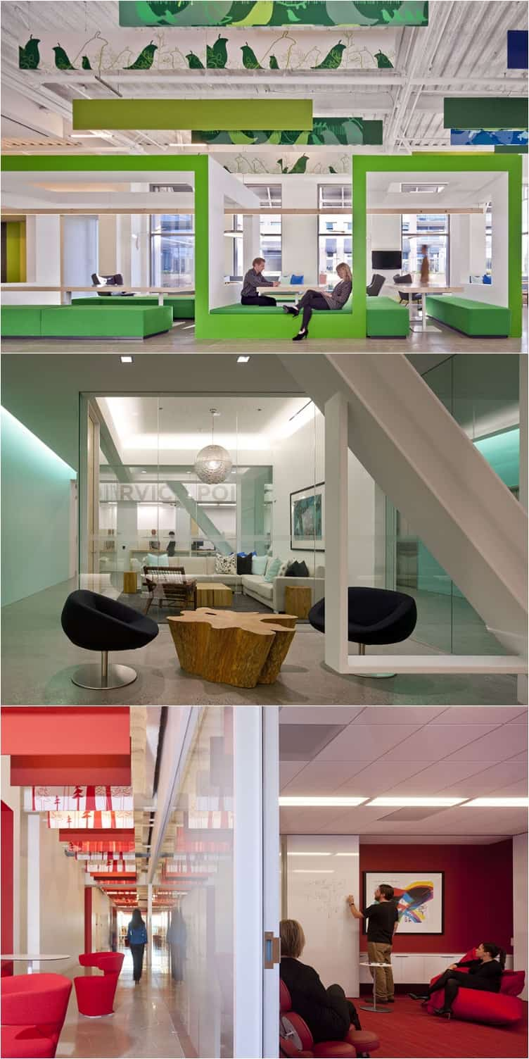 16 Companies with Dream Offices