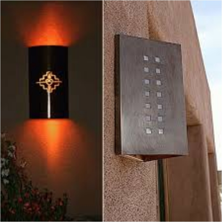 Contemporary Outside Wall Lamps : 29 Creative Wall Lamps that Illuminate and Decorate