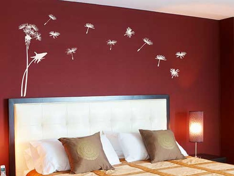 48 Elegant Wall Designs To Adorn Your Bedroom Walls Ritely Interesting Bedroom Wall Design