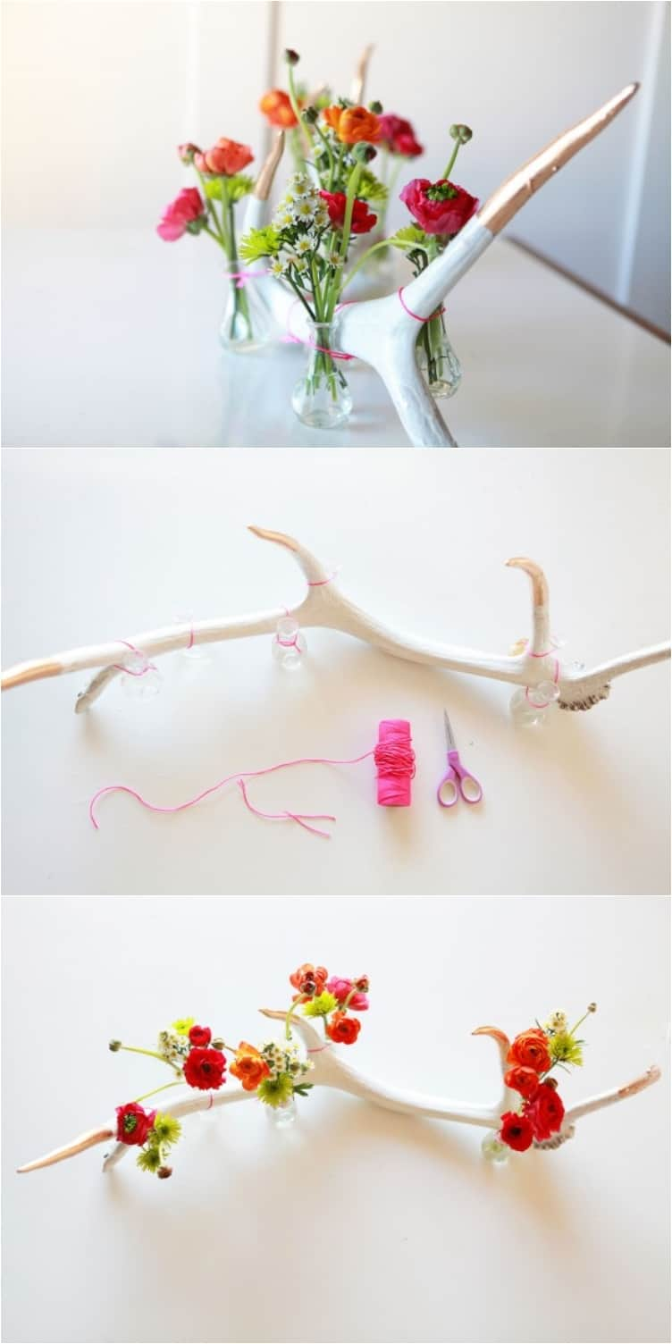 22 Lovely DIY Floral Centerpieces to Welcome Spring