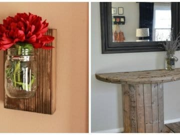 DIY Decor Pieces for a Lovely, Rustic Look