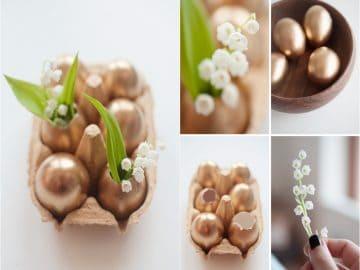 easter centerpieces golden-easter-eggs 79ideas