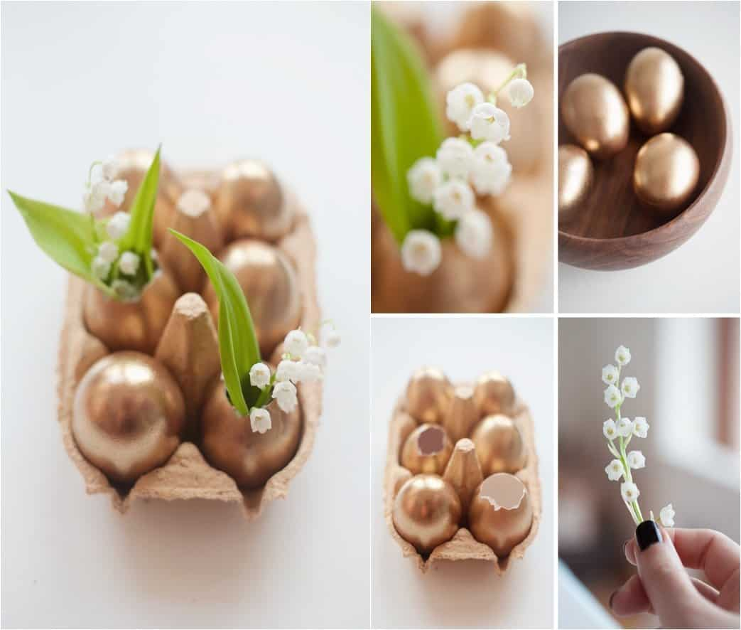easter centerpieces golden-easter-eggs 79ideas