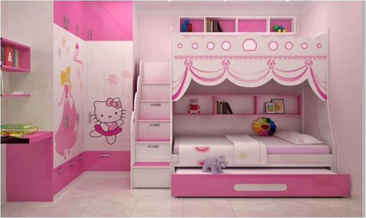 32 Cheery Designs For A Little Girl S Dream Bedroom Ritely