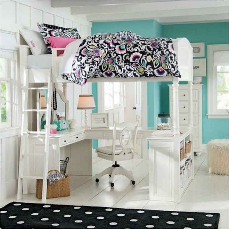 Gentil 36 Awesome Teen Girl Bedroom Designs
