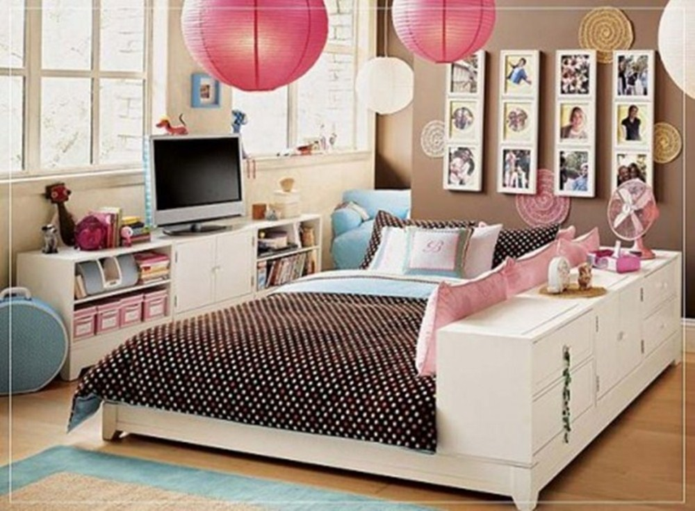 48 Awesome Teen Girl Bedroom Designs Ritely Magnificent Teenage Girl Bedroom Designs