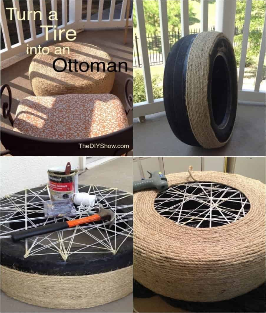 Repurpose old car tires in 18 brilliant ways ritely for What to do with old tires
