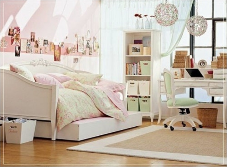Soft Pink And Mint Green Colored Bedroom 36 Awesome Designs