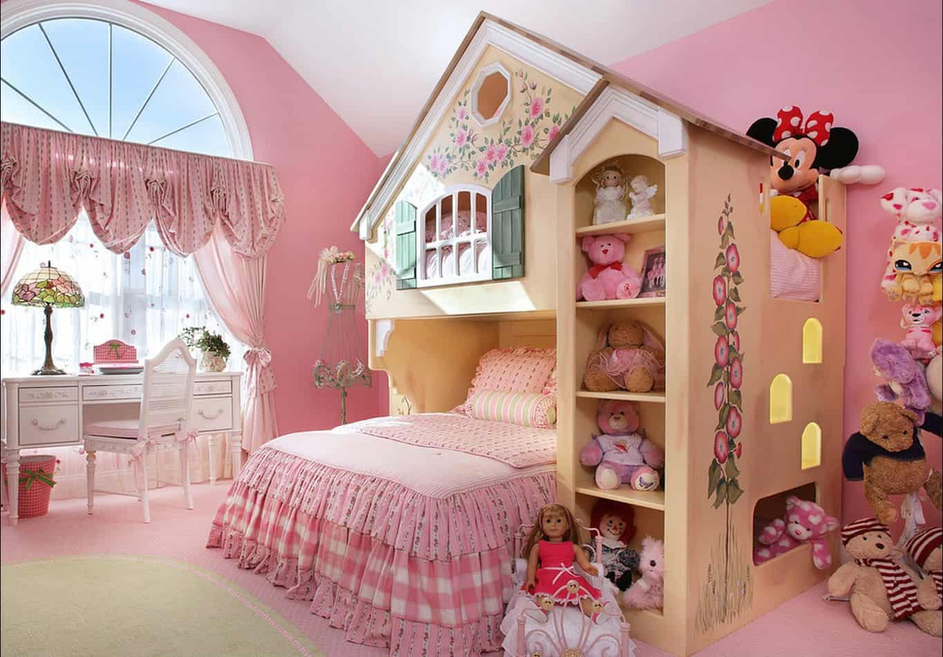 32 Cheery Designs For A Little Girlu0027s Dream Bedroom