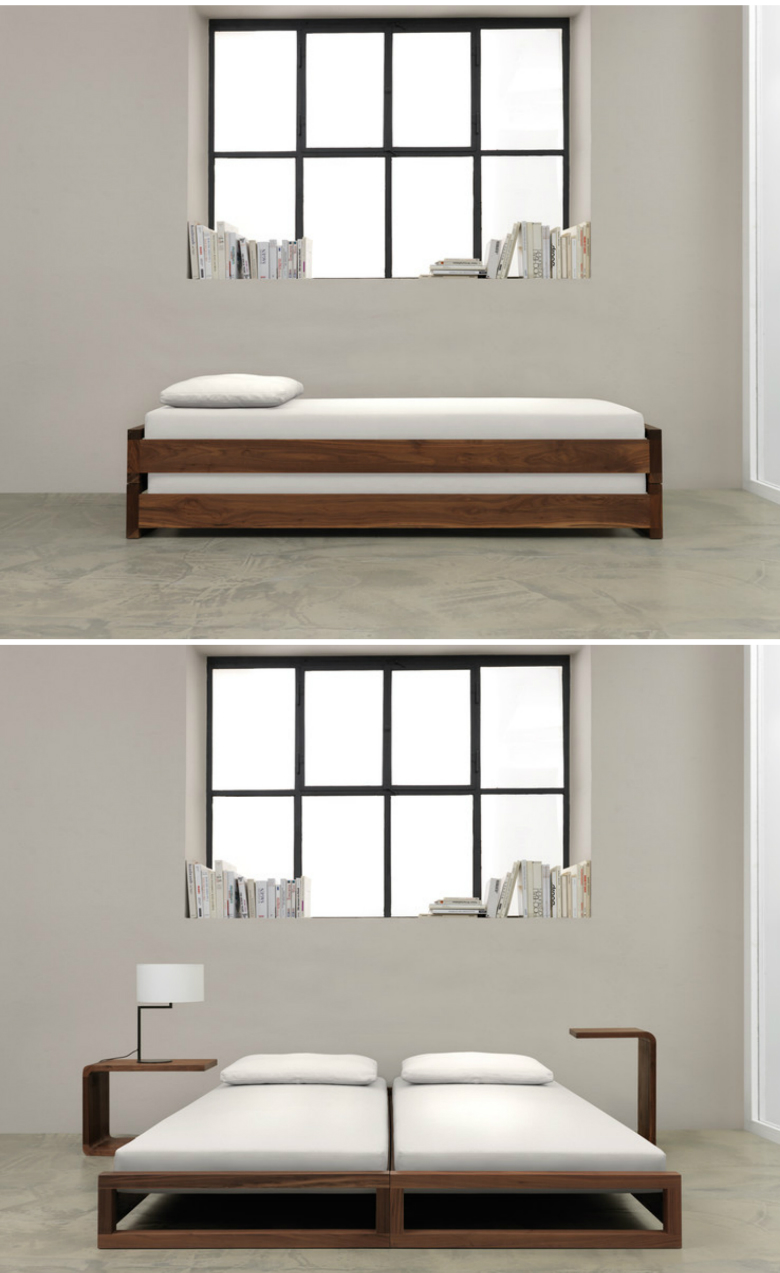 23 clever compact bed designs ritely for Compact beds