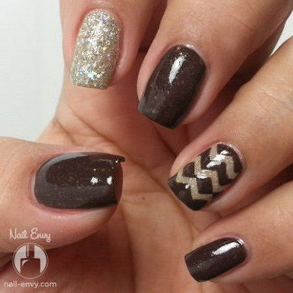 30 Deliciously Creative Chocolate Nail Designs