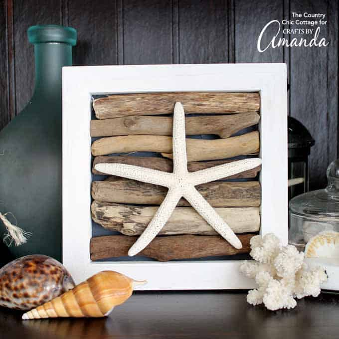 18 Stunning Decorations to Make with Driftwood