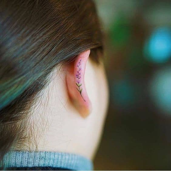 23 helix ear tattoos the newest way to decorate your ears ritely