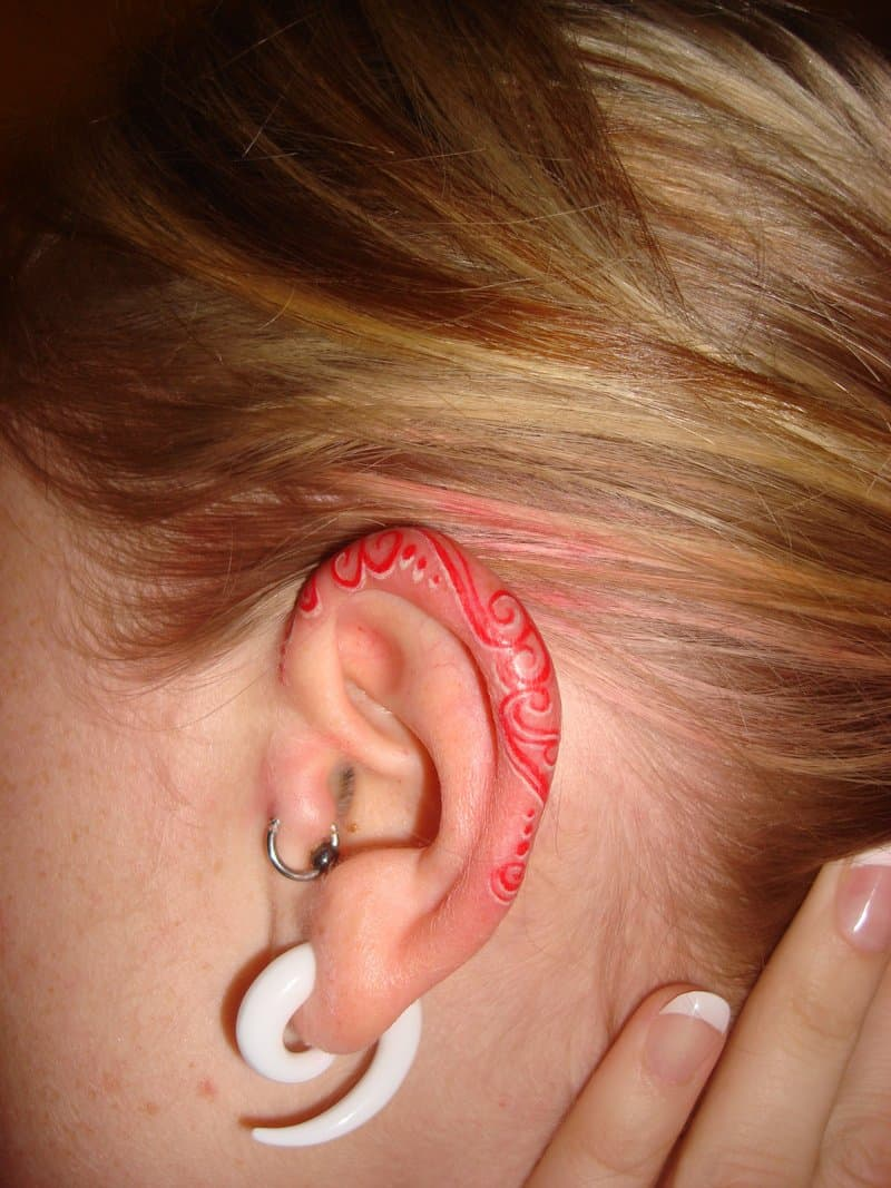 23 Helix Ear Tattoos: The Newest Way to Decorate Your Ears