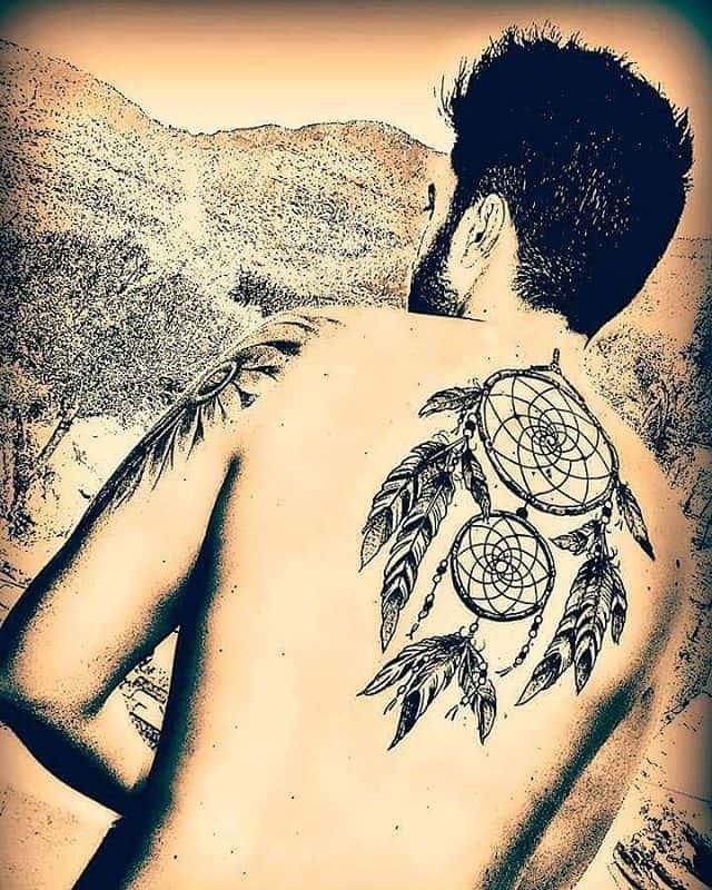 Double Dream Catcher Tattoo 40 Imaginative Dream Catcher Tattoo Designs Page 40 of 40 Ritely 23