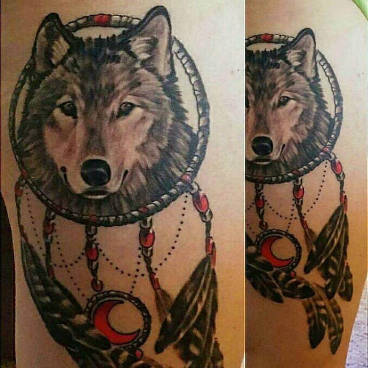35 Imaginative Dream Catcher Tattoo Designs