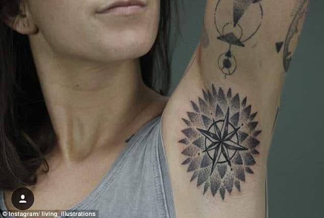 35 Armpit Tattoos That Are Painfully Amusing