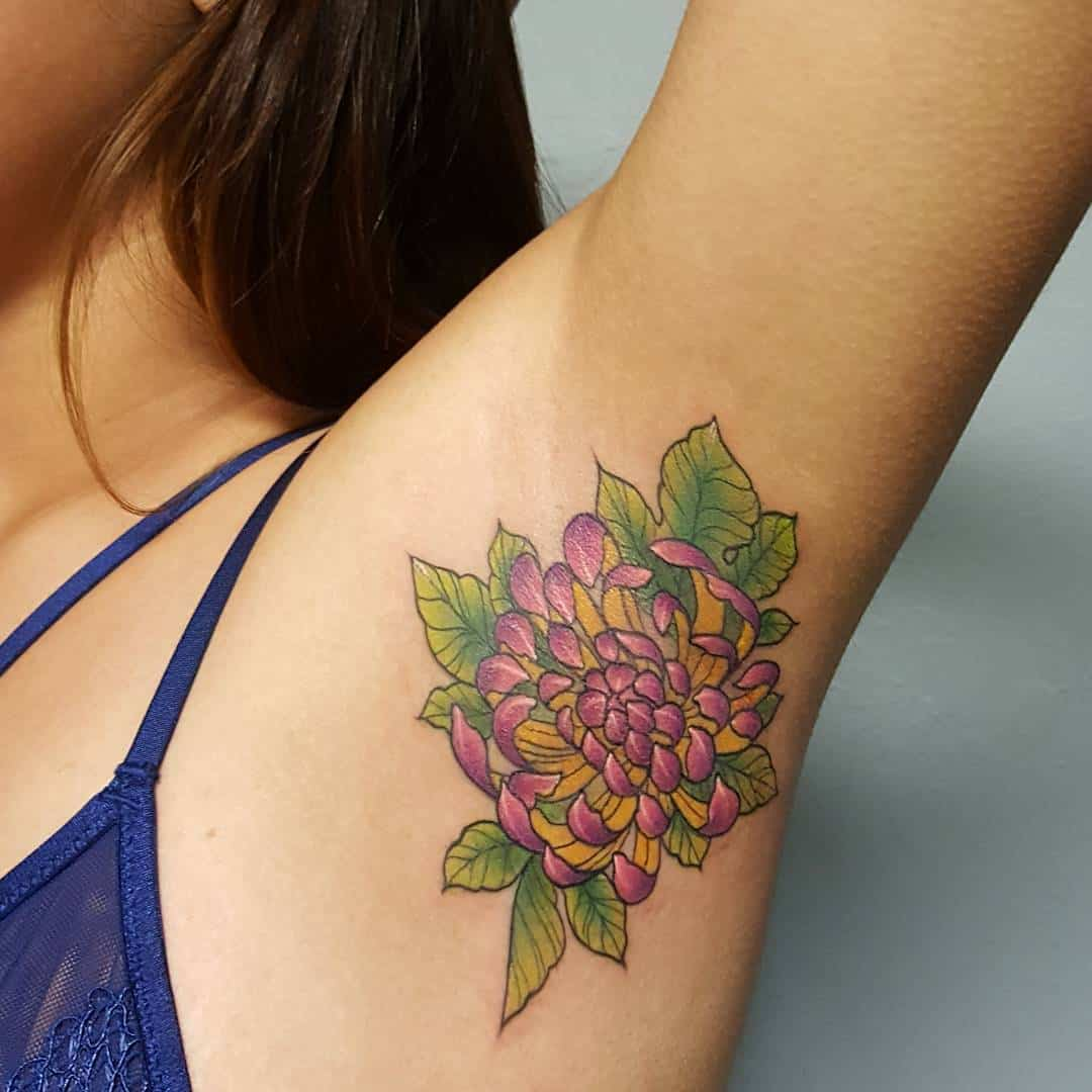 35 Armpit Tattoos That Are Painfully Amusing Ritely