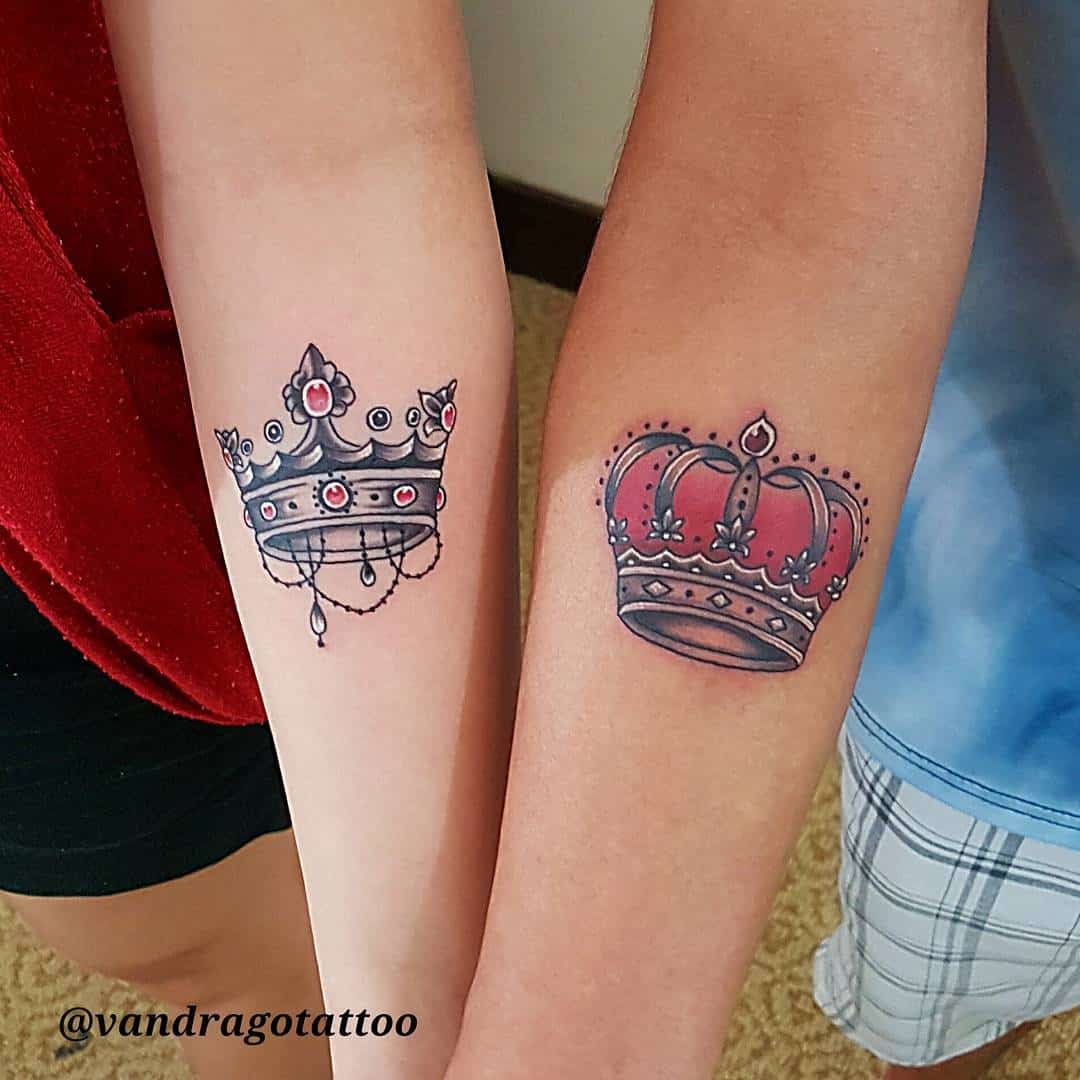 27 crown tattoos making you feel like kings and queens ritely 27 crown tattoos making you feel like kings and queens biocorpaavc Choice Image