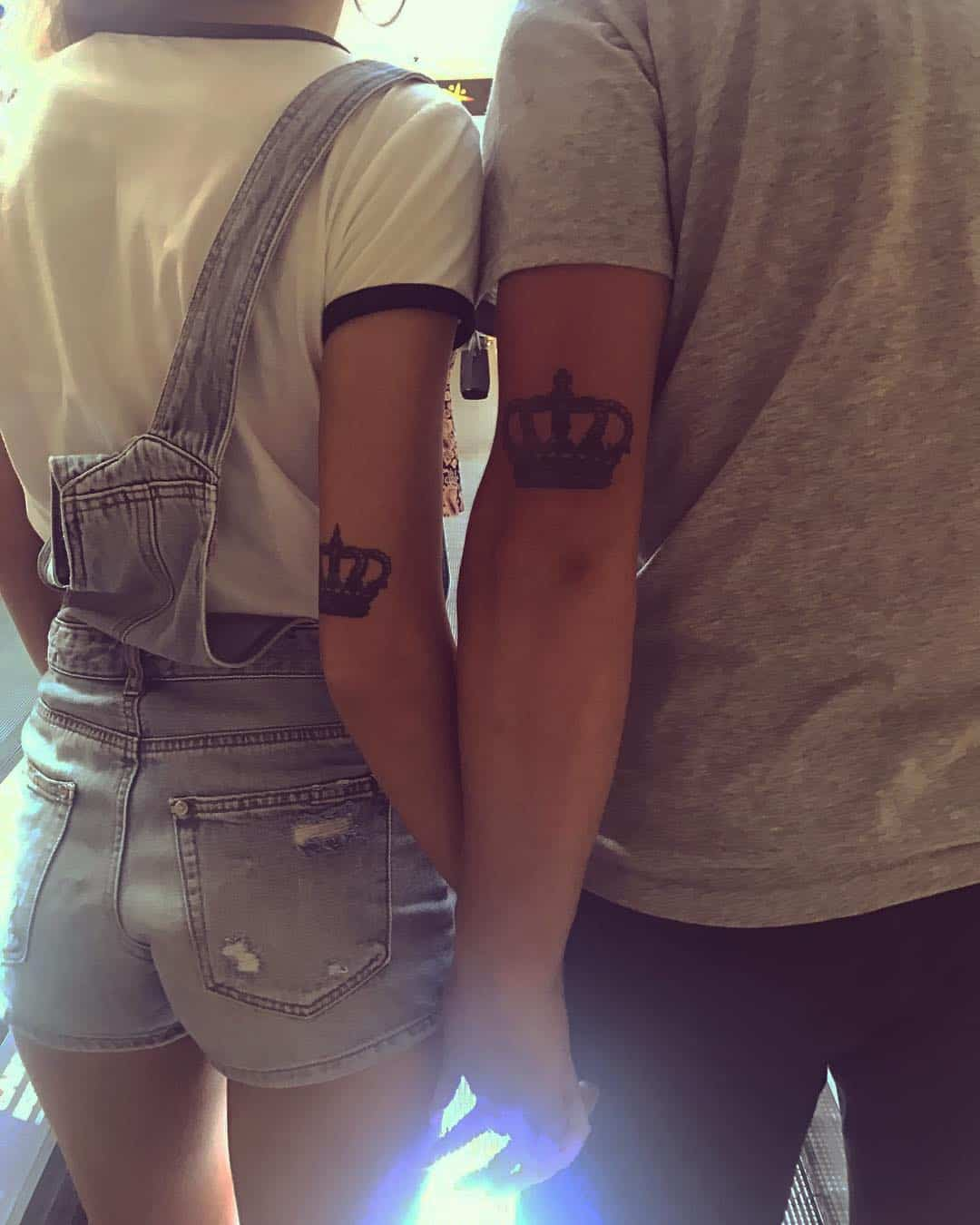 27 Crown Tattoos Making You Feel Like Kings And Queens Ritely