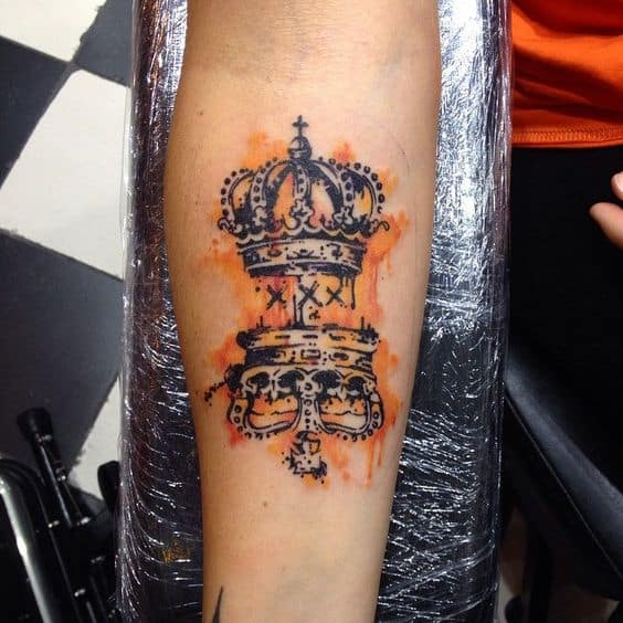 27 Crown Tattoos Making You Feel Like Kings And Queens