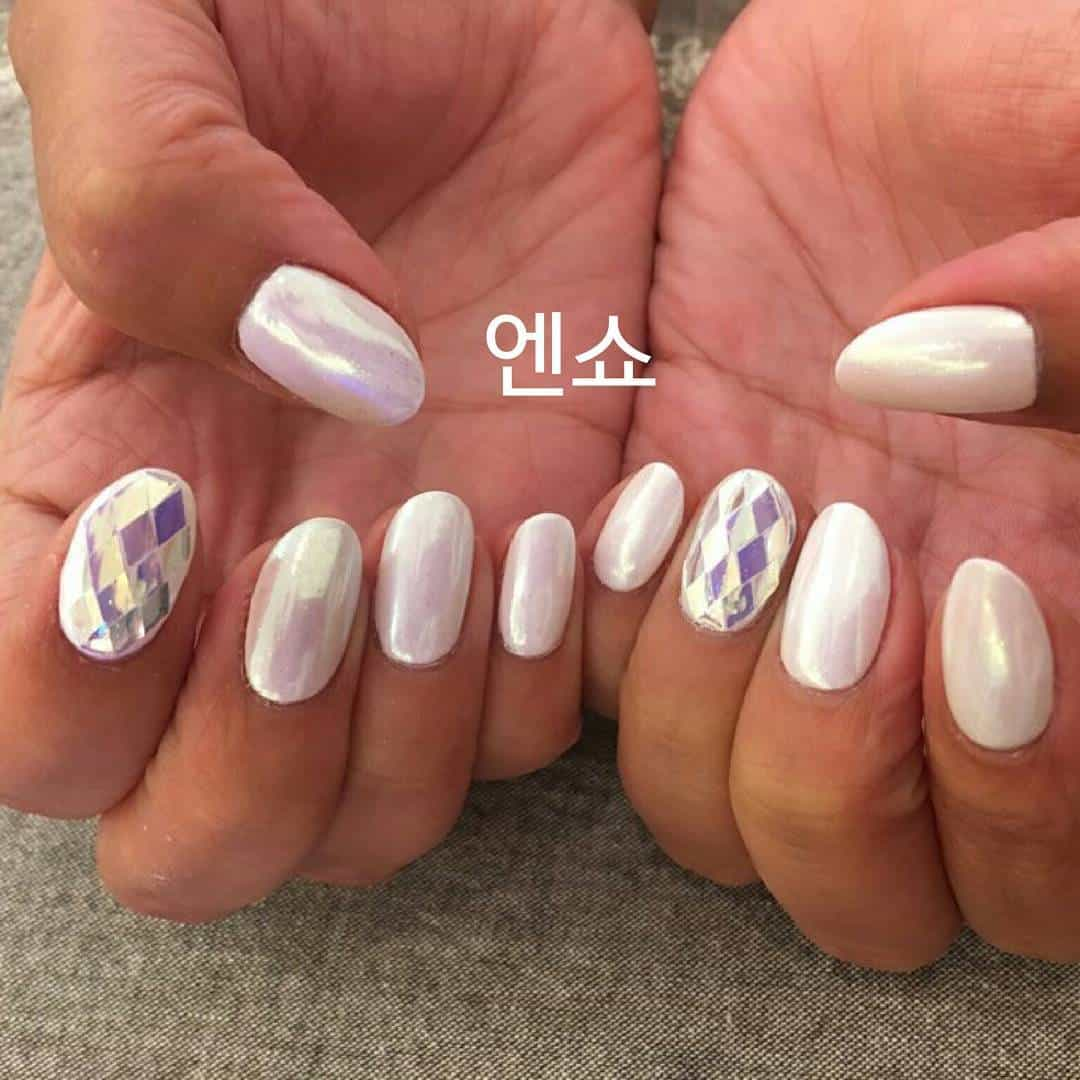 18 Diamond Nails Becoming A Hit From Korea