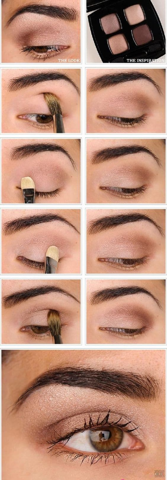 ... 10 makeup ideas for brown eyes ...