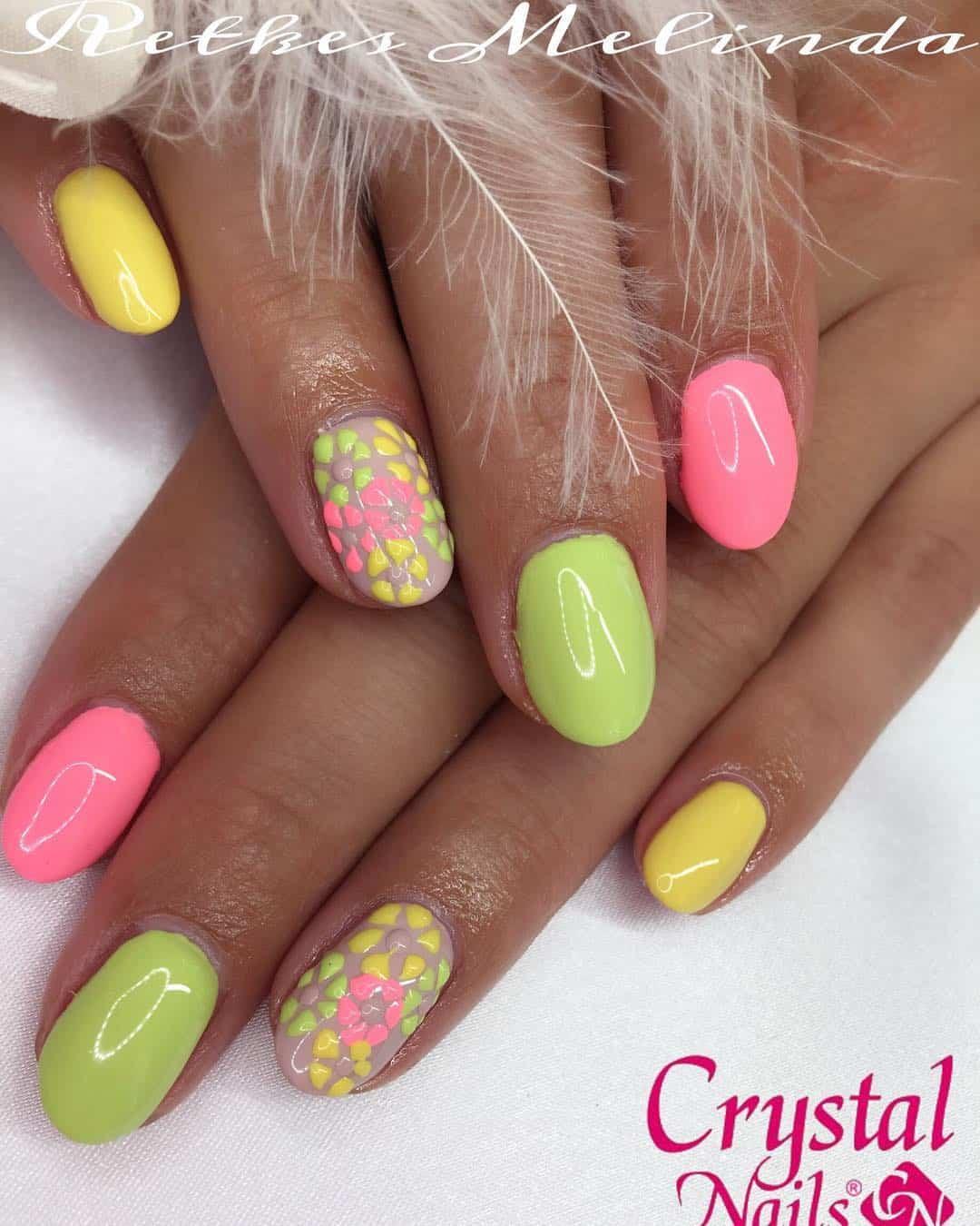 20 Neon Nail DesignsFor A Burst Of Bright Colors