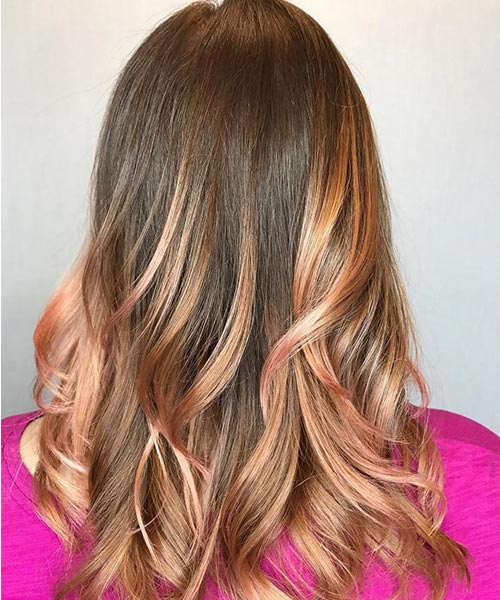 25 Eye-Catching Rose Gold Hair Ideas For 2017