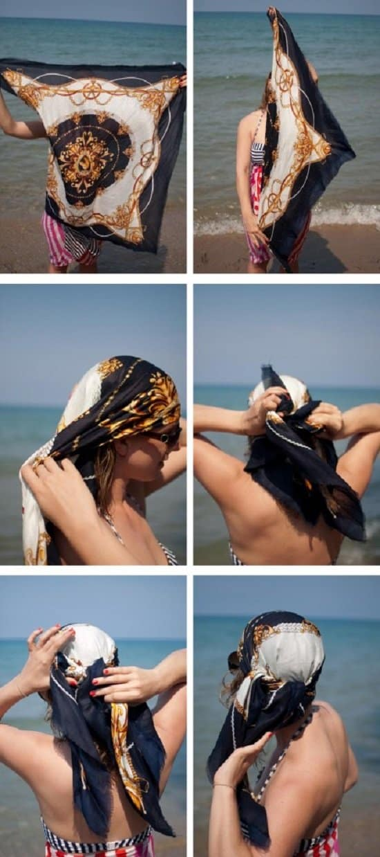 Learn 20 Cool Ways To Wear A Headscarf This Summer