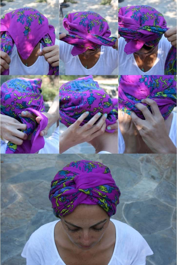 0749e301bf Learn 20 Cool Ways To Wear A Headscarf This Summer - Ritely