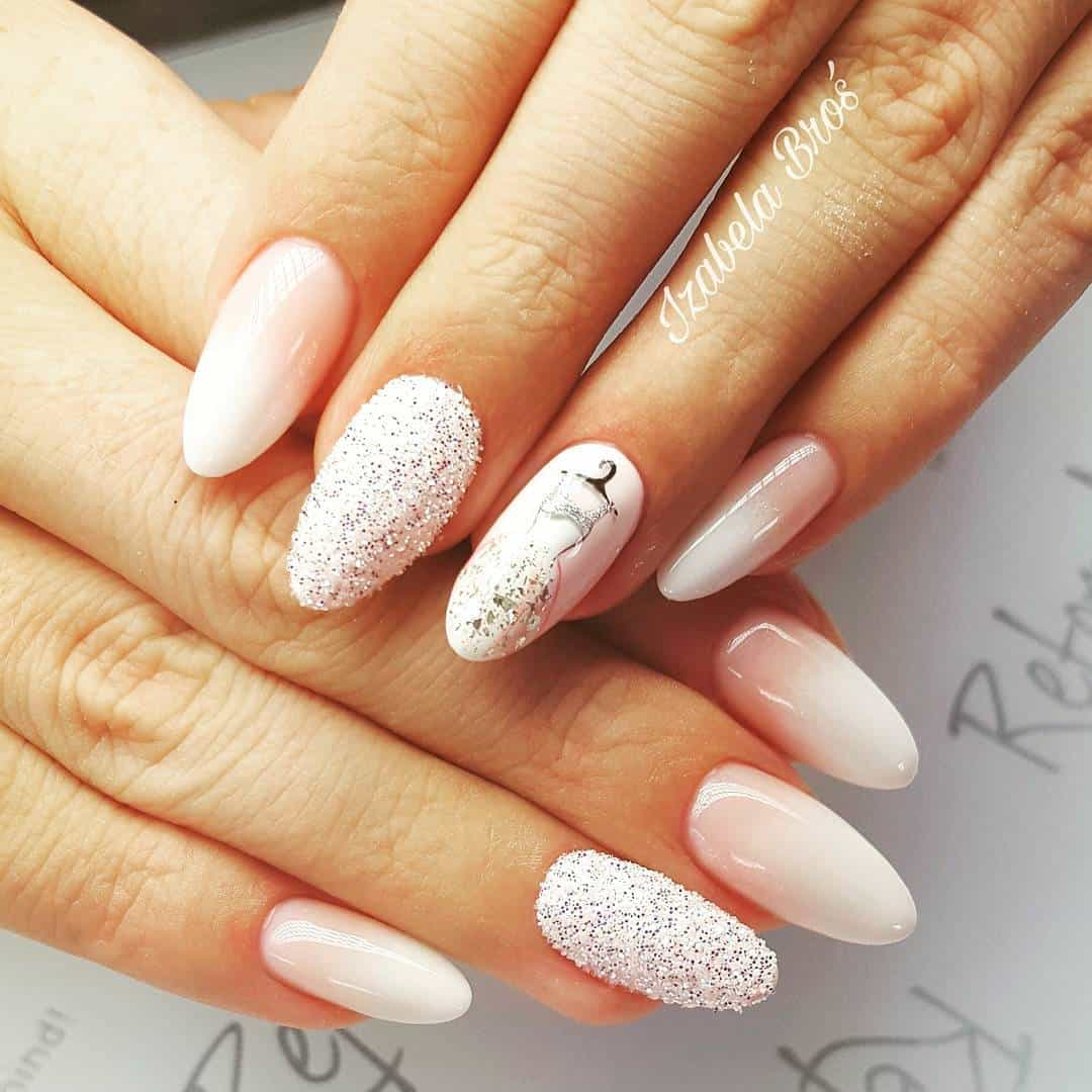 30 Fairy-Like Wedding Nails For Your Big Day