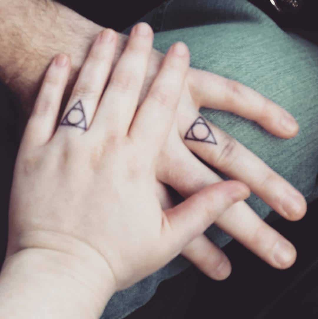 30 Touching And Sweet Wedding Ring Tattoos