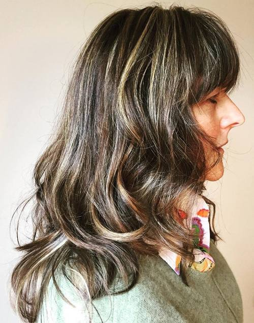 28 Edgy And Elegant Haircuts For Women Over 50