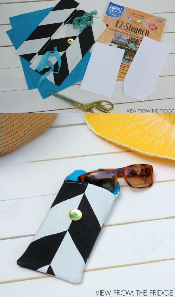18 Fashionable DIY Cases To Protect Your Sunglasses