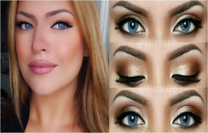 Eye Shadow Combos For Mesmerizing Blue Eyes