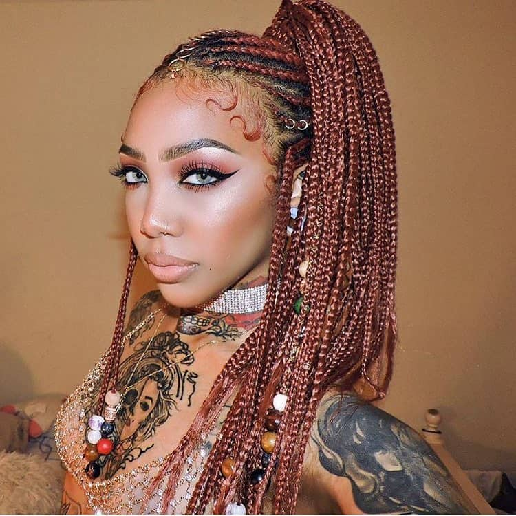30 Box Braids Looking Absolutely Stunning