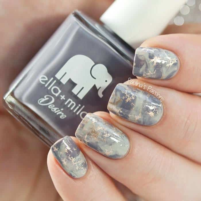 28 Marble Nail Designs For An Elegant And Strong Look