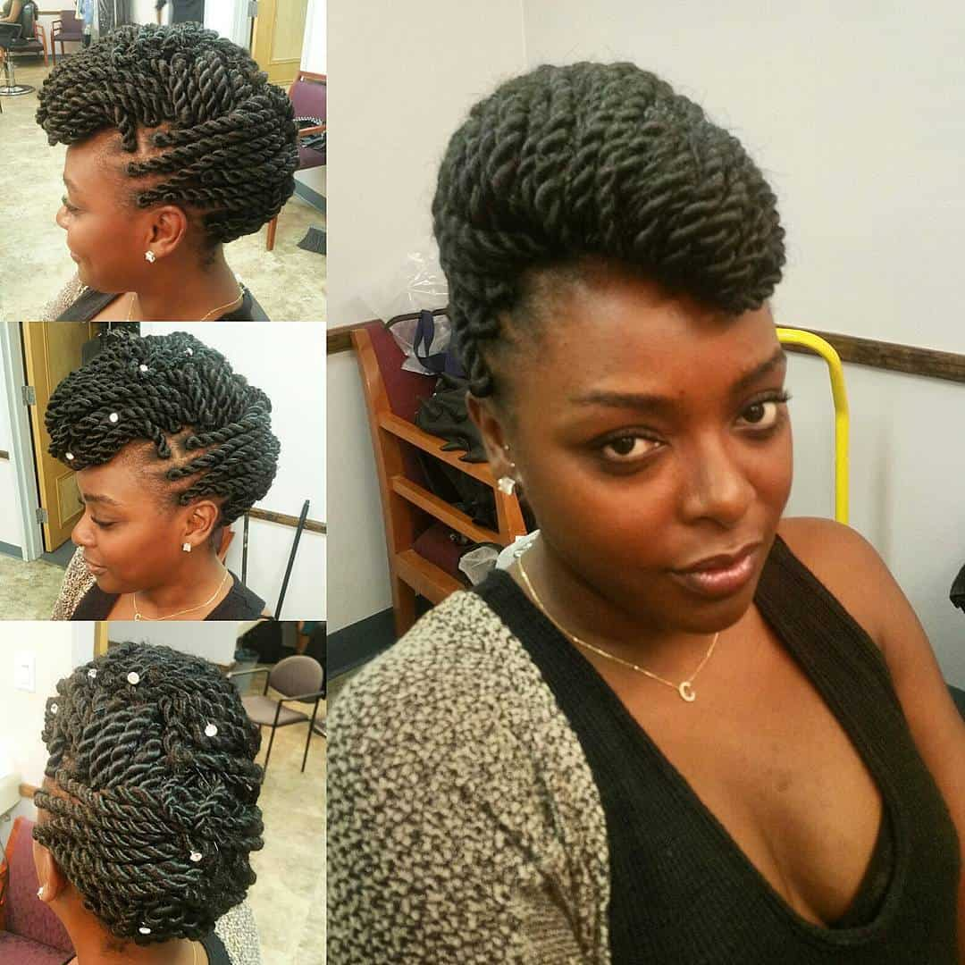 smoldering senegalese twist hairstyles