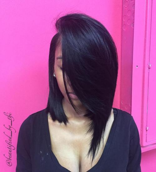 28 Stylish Sew-In Hairstyles To Hit You Hair Goals
