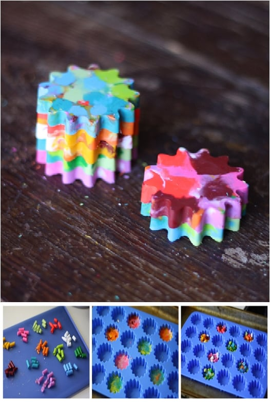 15 Crayon Crafts To Add Color All Around